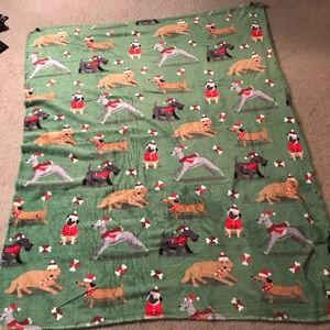 Other - Christmas Dogs Blanket 60x50 NEW